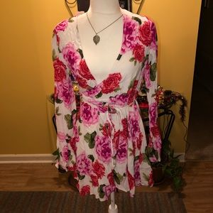 Forever 21 | Floral Wrap Dress